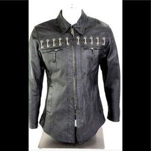Vintage Harley-Davidson Womens jacket with chains